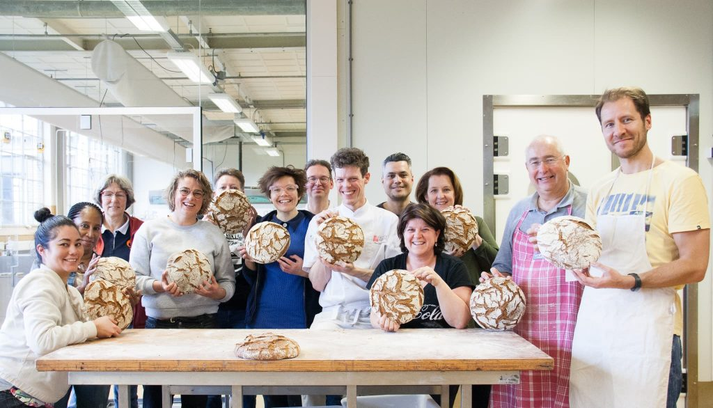 broodbak cursus Bakery institute groep