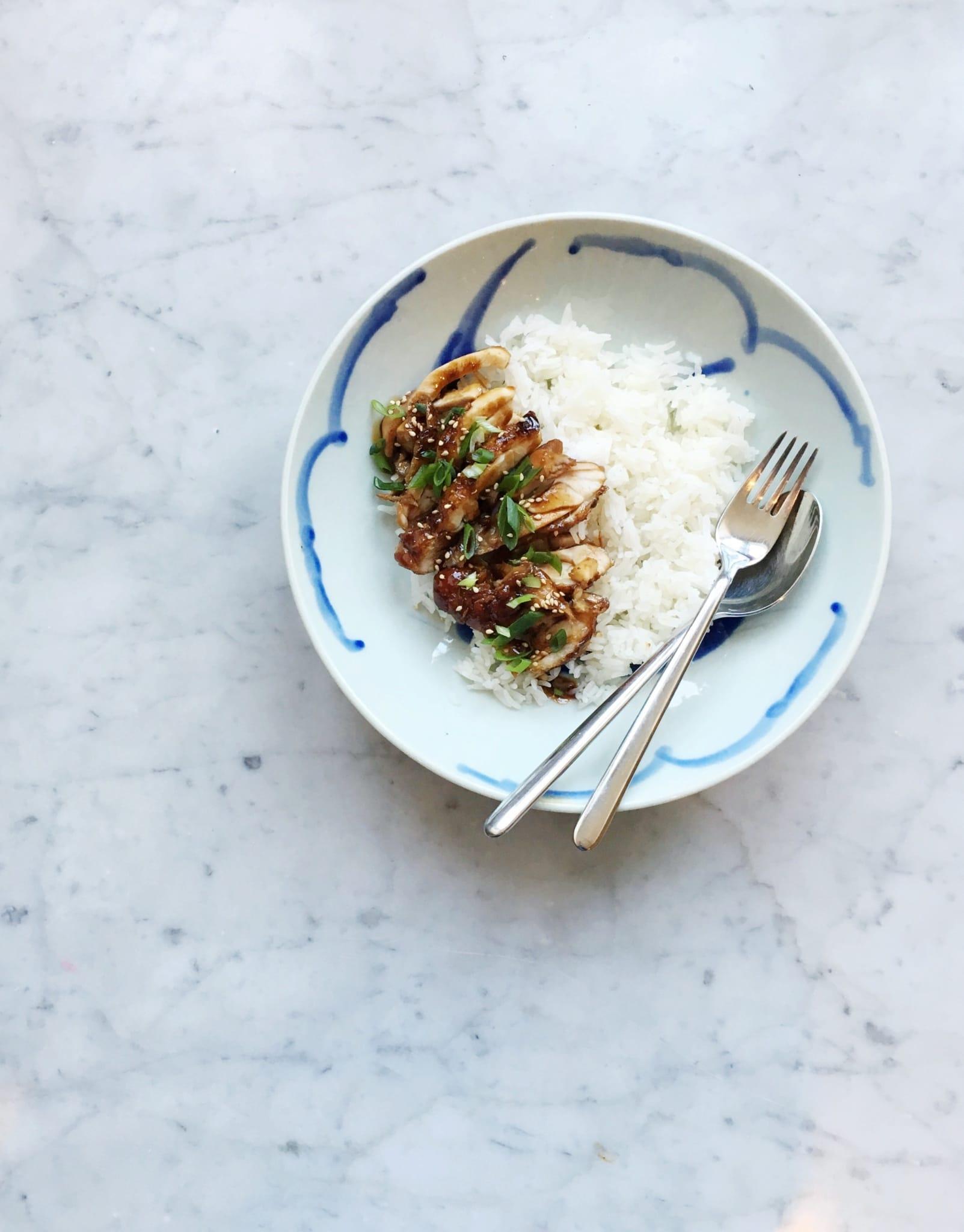 image - Recept Kip Teriyaki met rijst