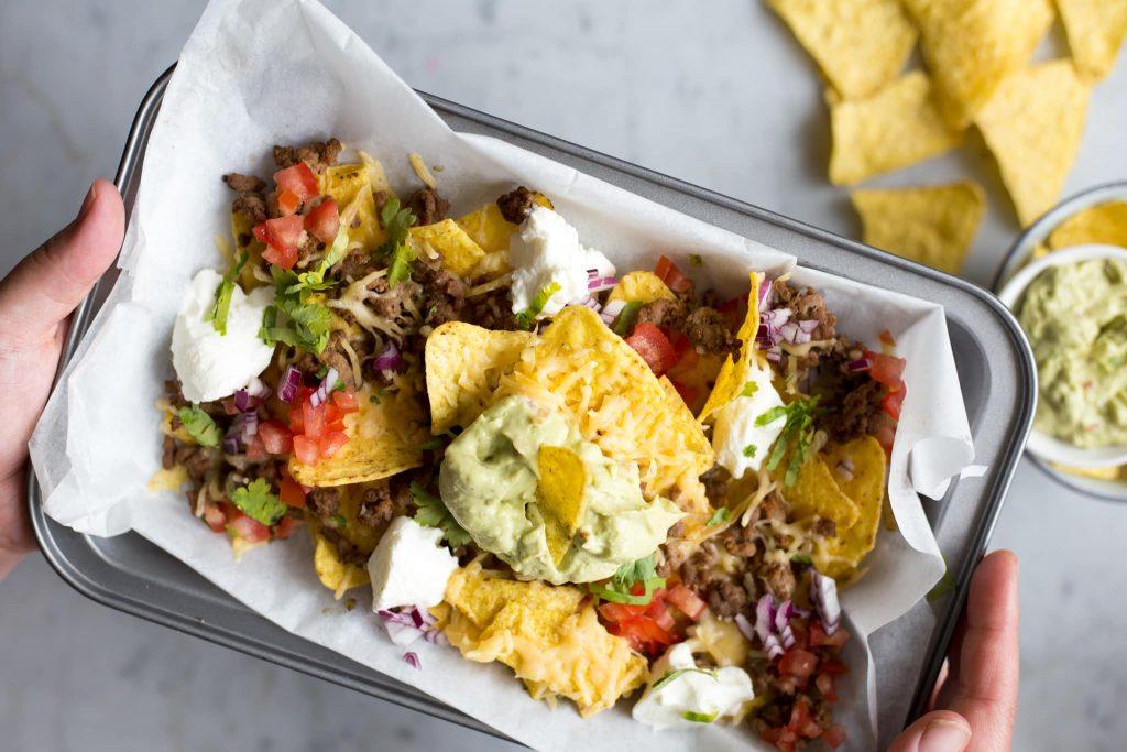 nacho's uit de oven