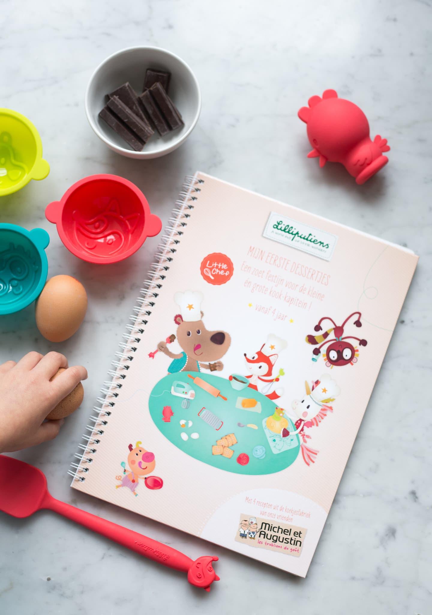 Lilliputiens - Lilliputiens Little Chef + Recept Chocoladetaartjes