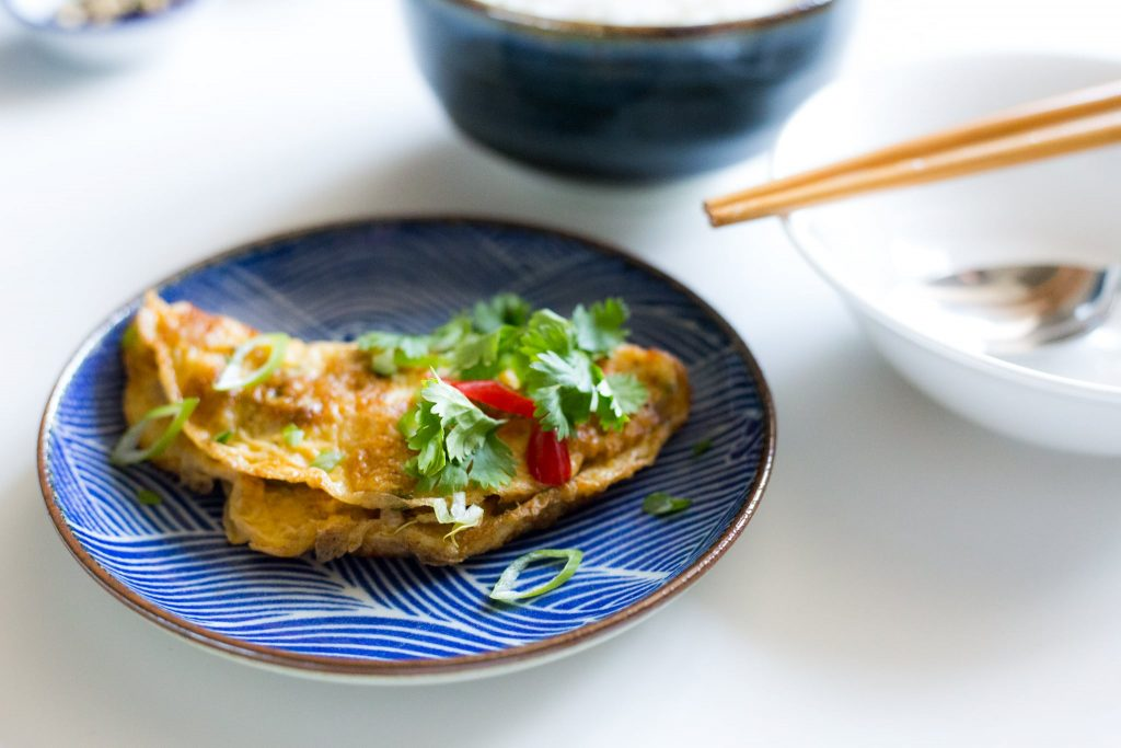vietnamese omelet garnalen culinessa