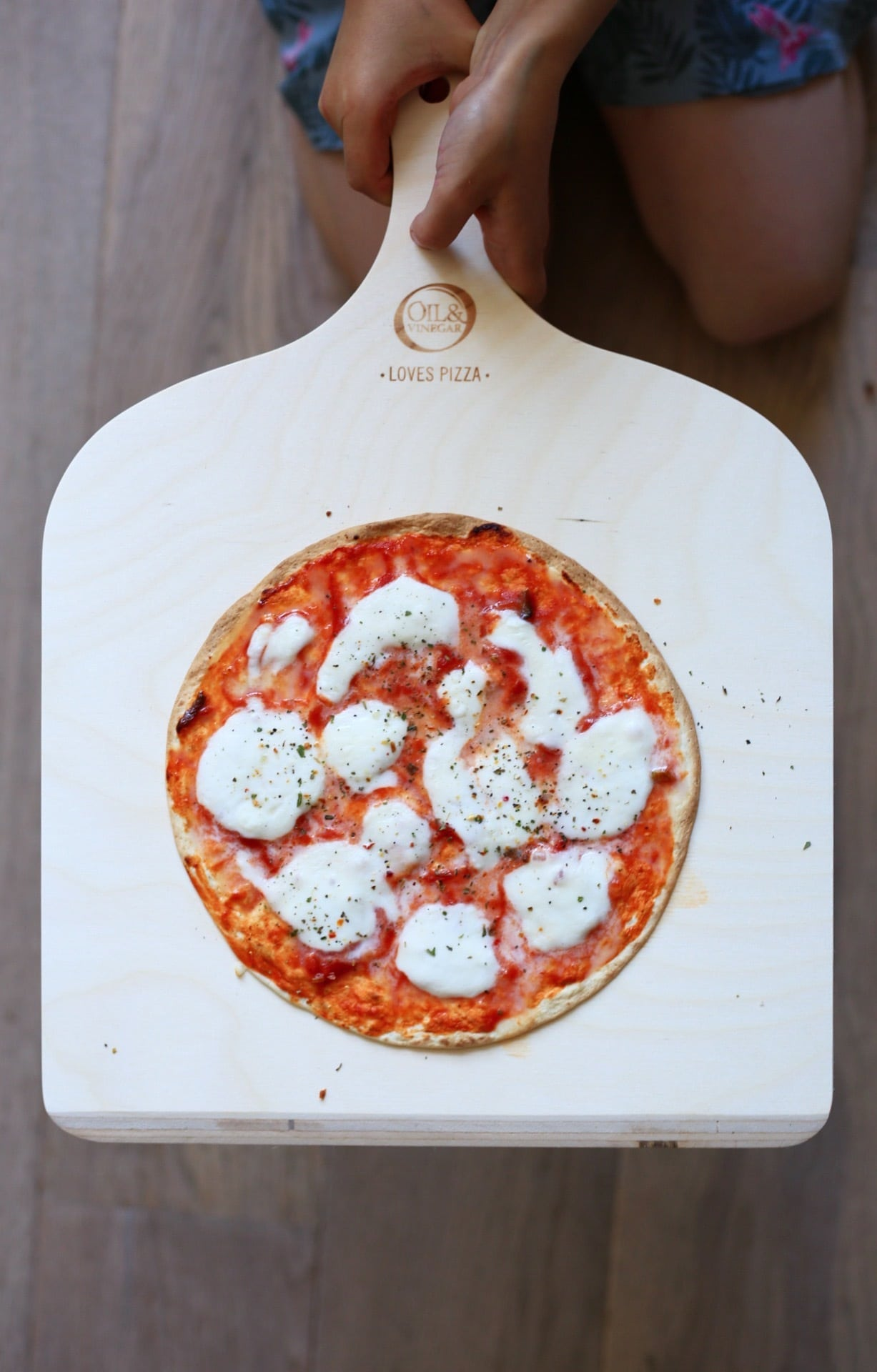 pizza margherita luxe