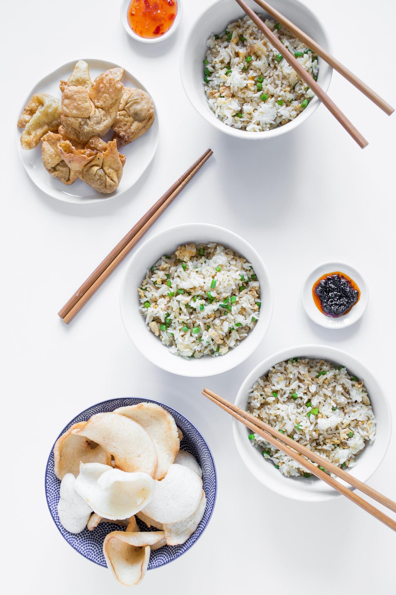 vegetarische nasi culinessa 1 - Vegetarische Nasi met kousenband en ei
