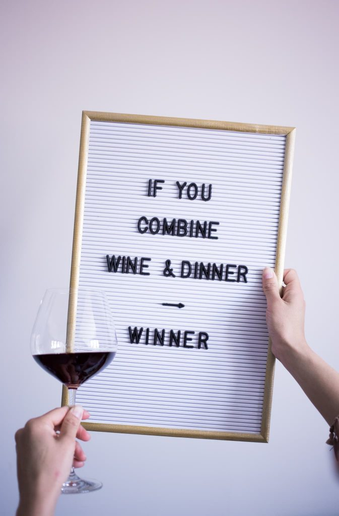 food quotes wine