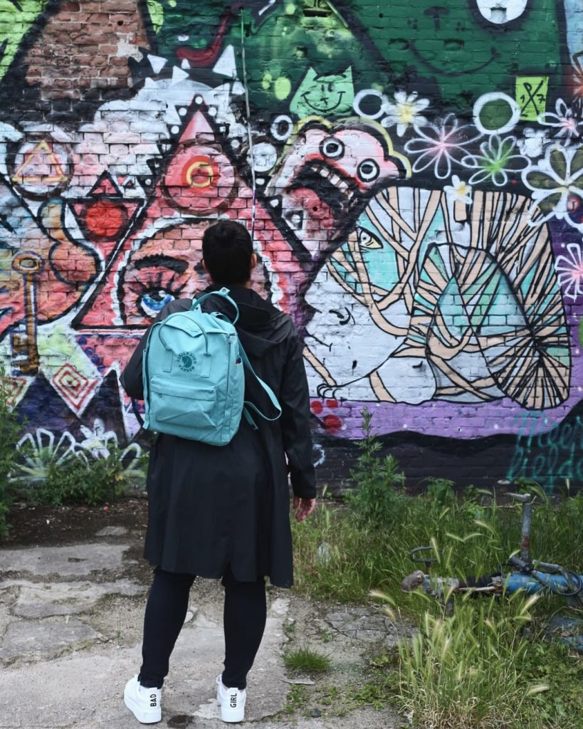 streetart tramkade den bosch