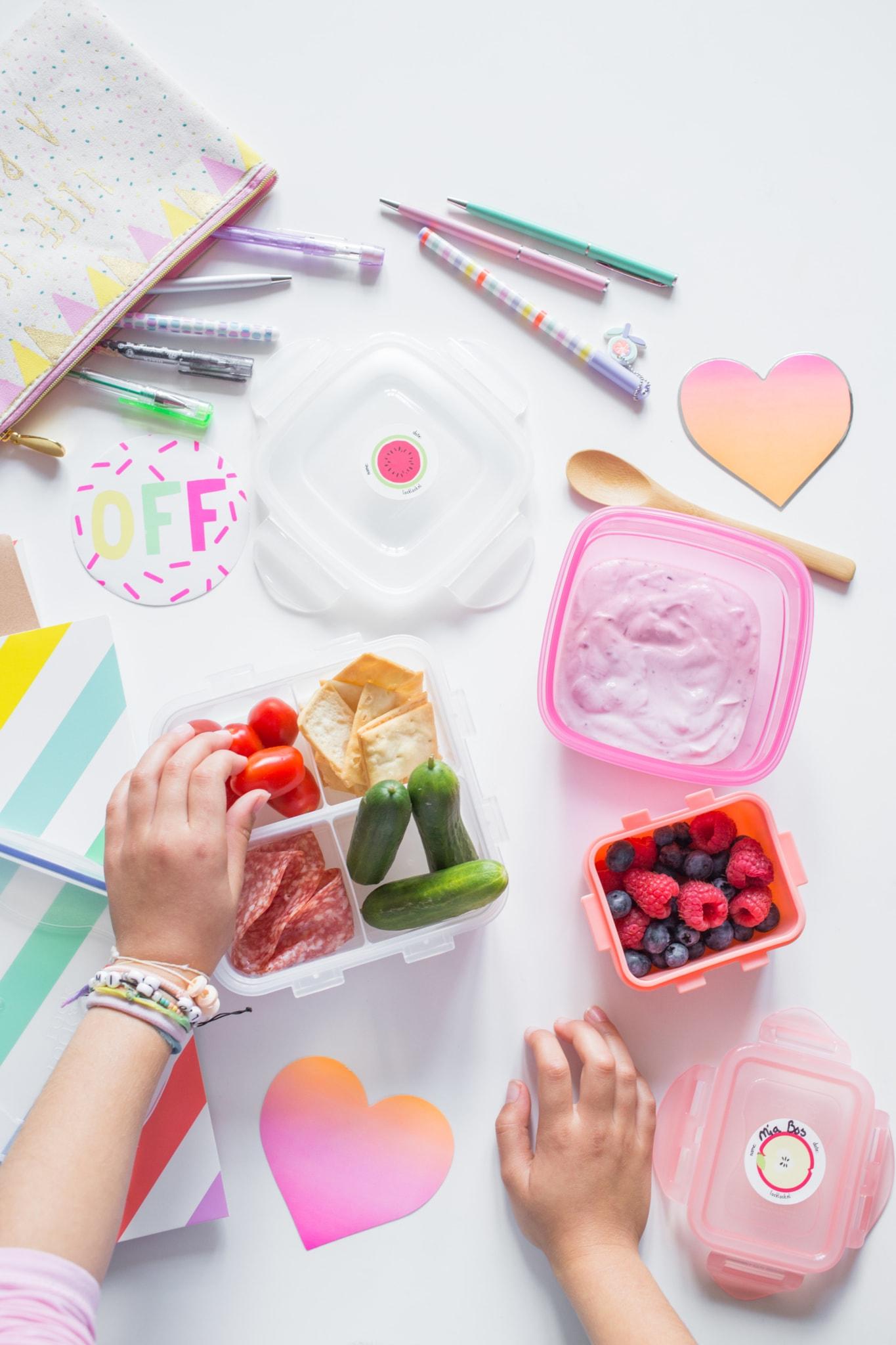 culinessa LocknLock girl - Lunch inspiratie voor school