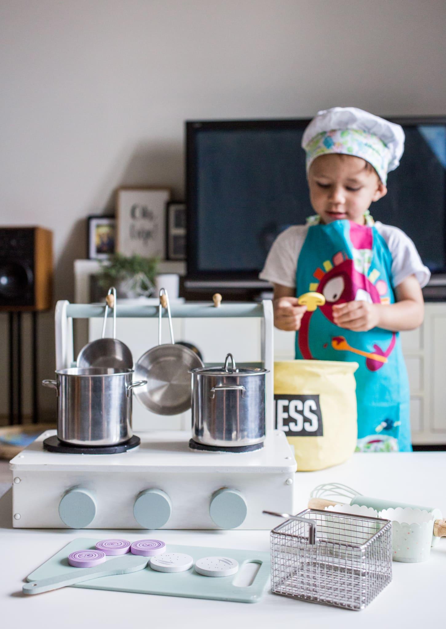 culinessa kinderkeuken 1 2 - DIY kado: kinder keuken voor de mini maken
