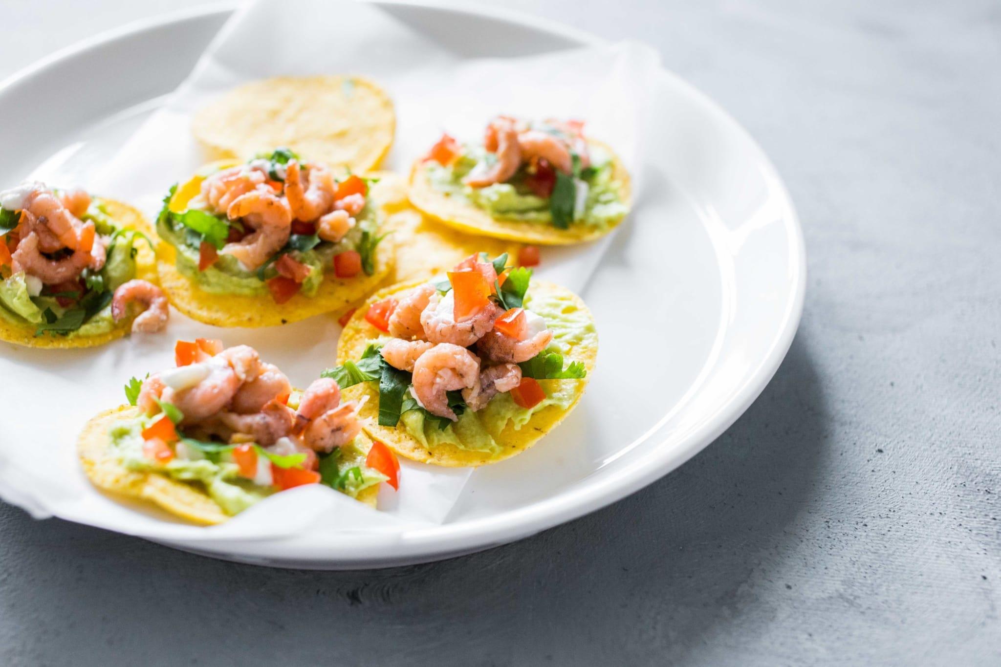 hollandse garnalen culinessa 1 - Recept nacho's met Hollandse garnalen