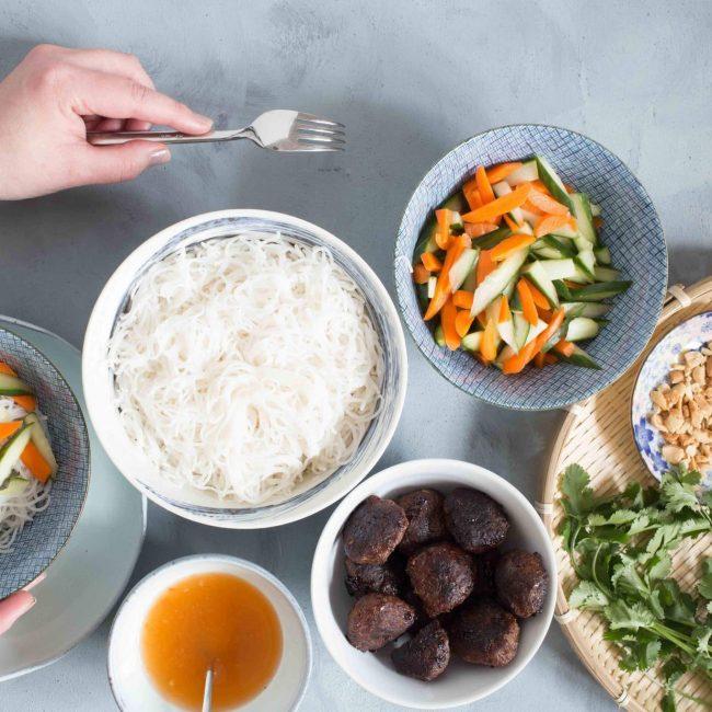 Recept Vietnamese gehaktballetjes