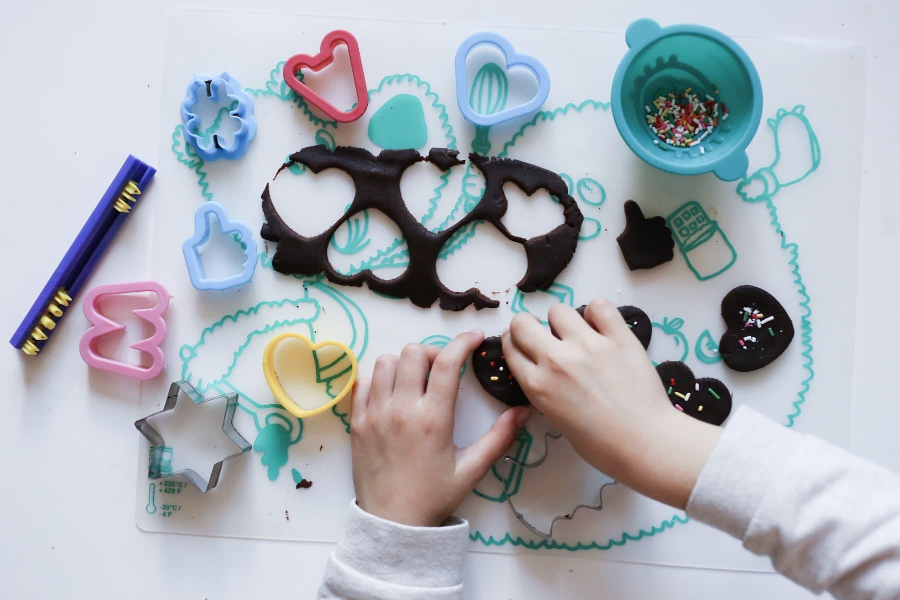 chocolade koekjes bakken kids