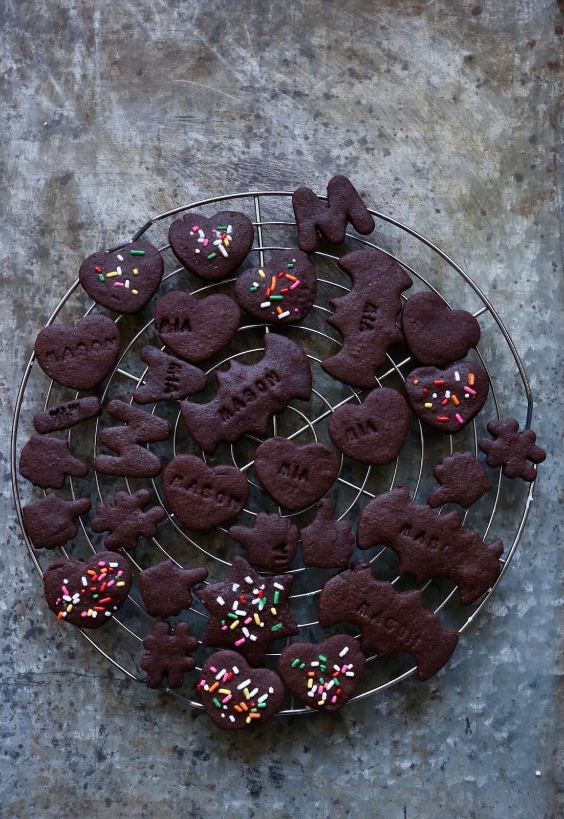 chocolade koekjes bakken