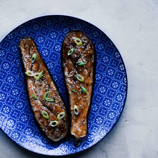 Recept Miso Aubergine op zn Japans