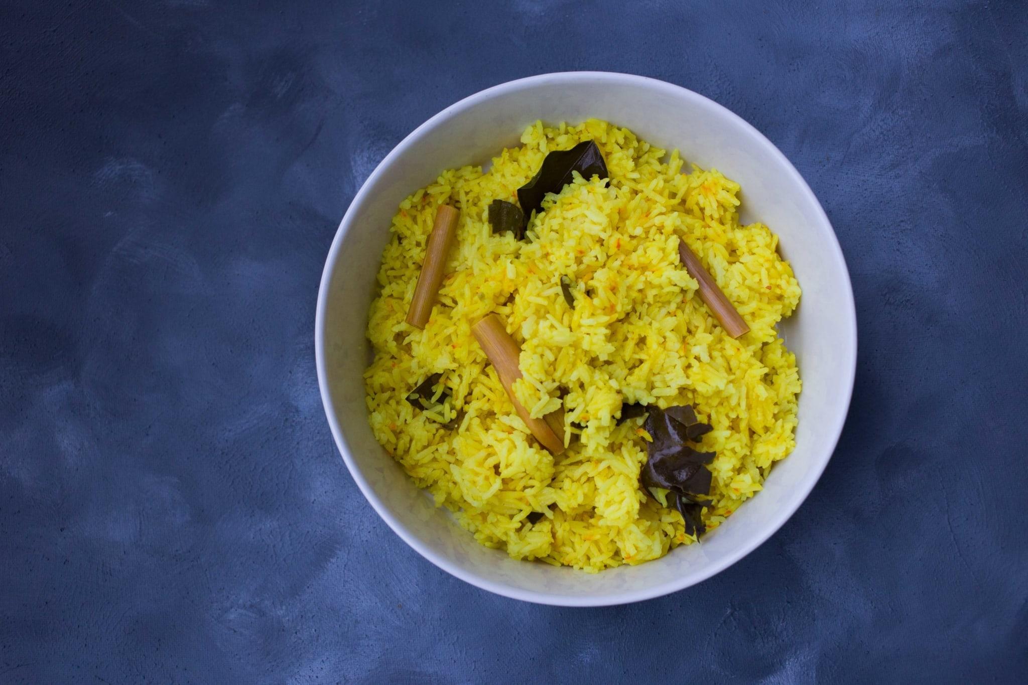 Indonesische Nasi Kuning