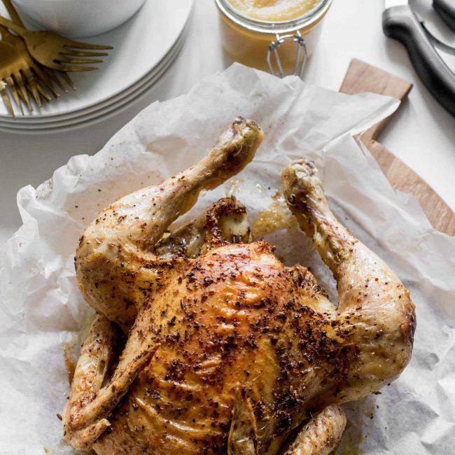 Recept hele kip uit de airfryer of oven
