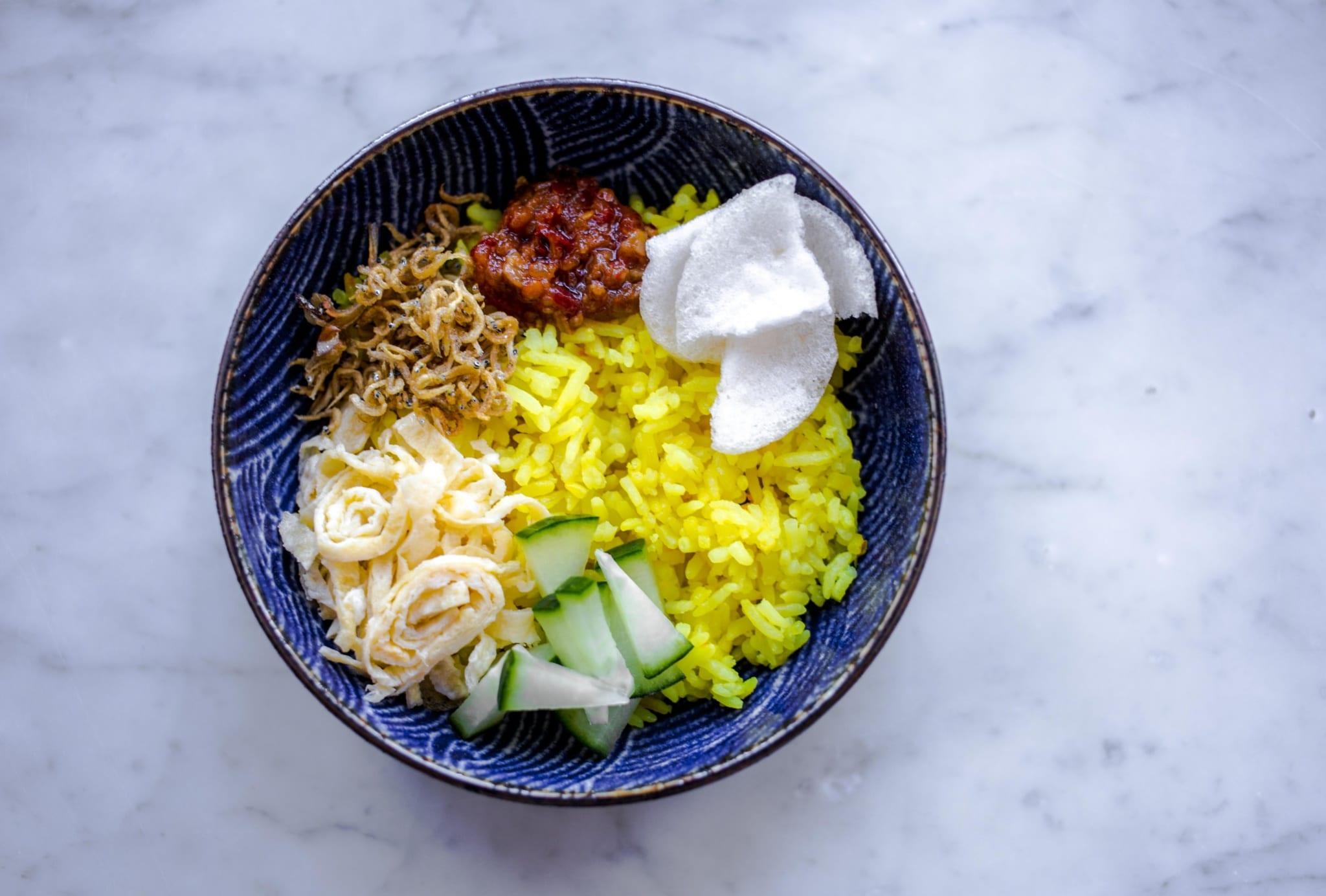nasi kuning met 1 - Recept Nasi Kuning