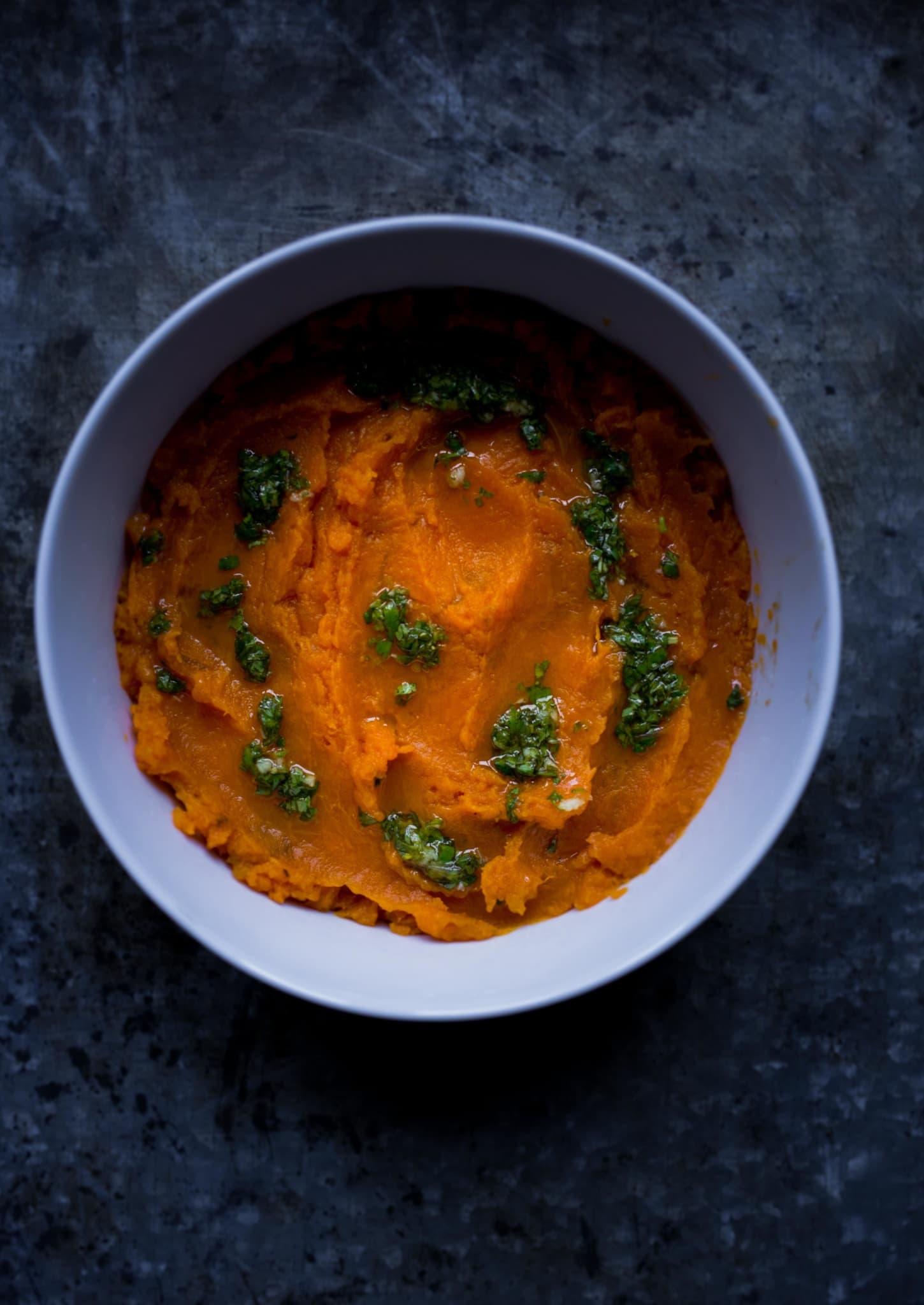 zoete aardappelpuree- ottolenghi simpel
