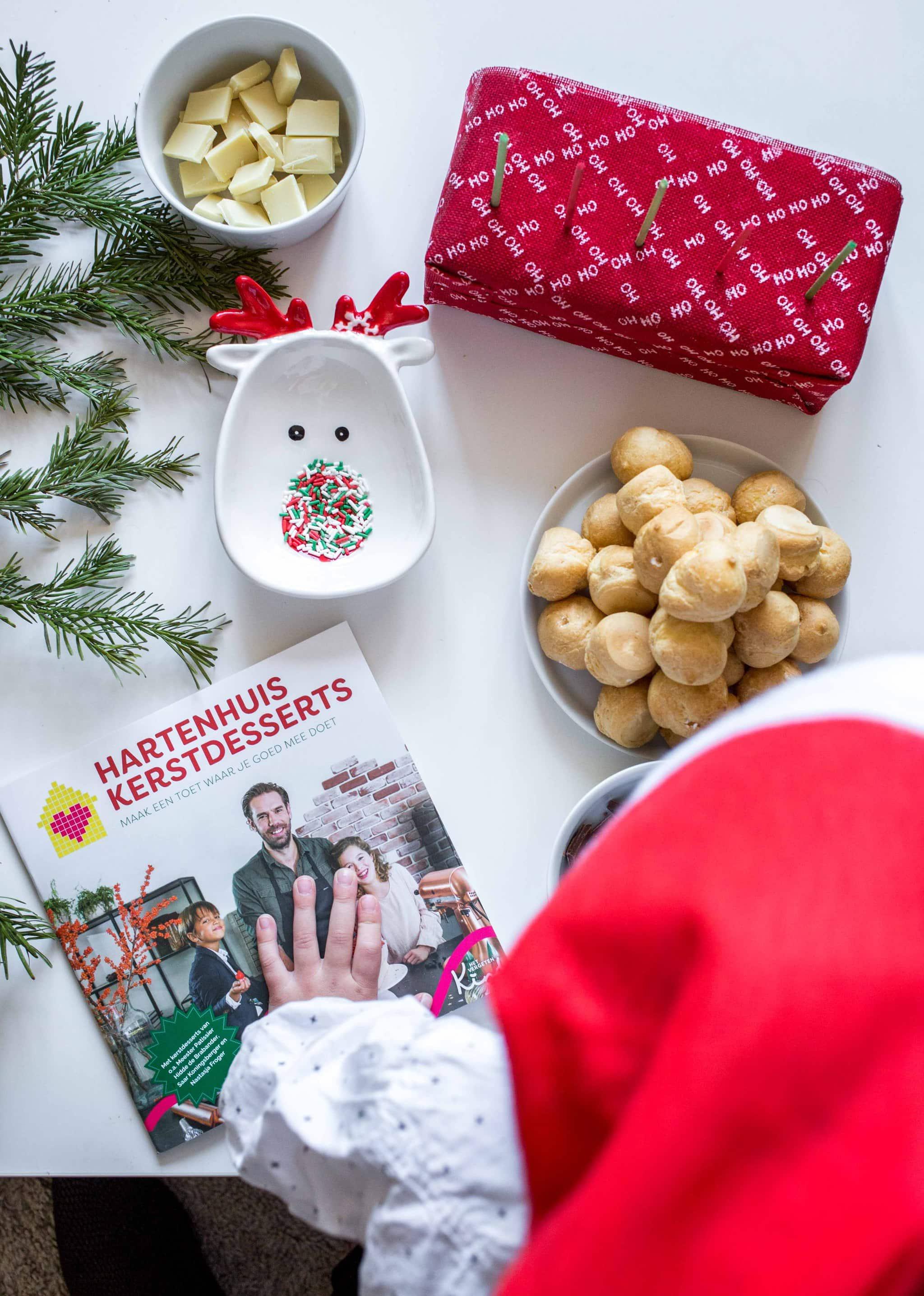 eetbare kerstballen 1 - Recept voor chocolade kerstballen