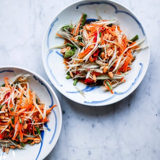 Recept Som Tam / Thaise papaya salade