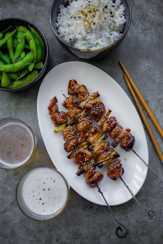 yakitori kip recept