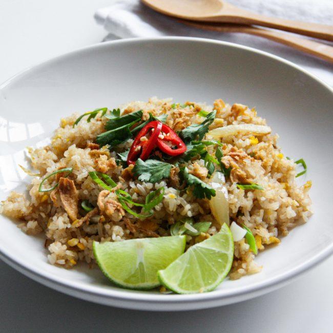 Recept Thaise gebakken rijst