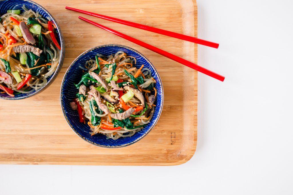 japchae recept koreaans