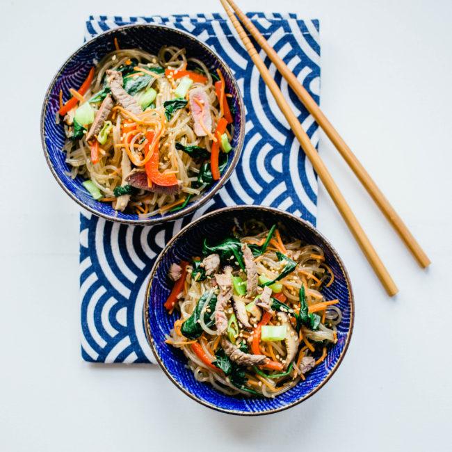 Recept Koreaanse Noedels: Jap Jae