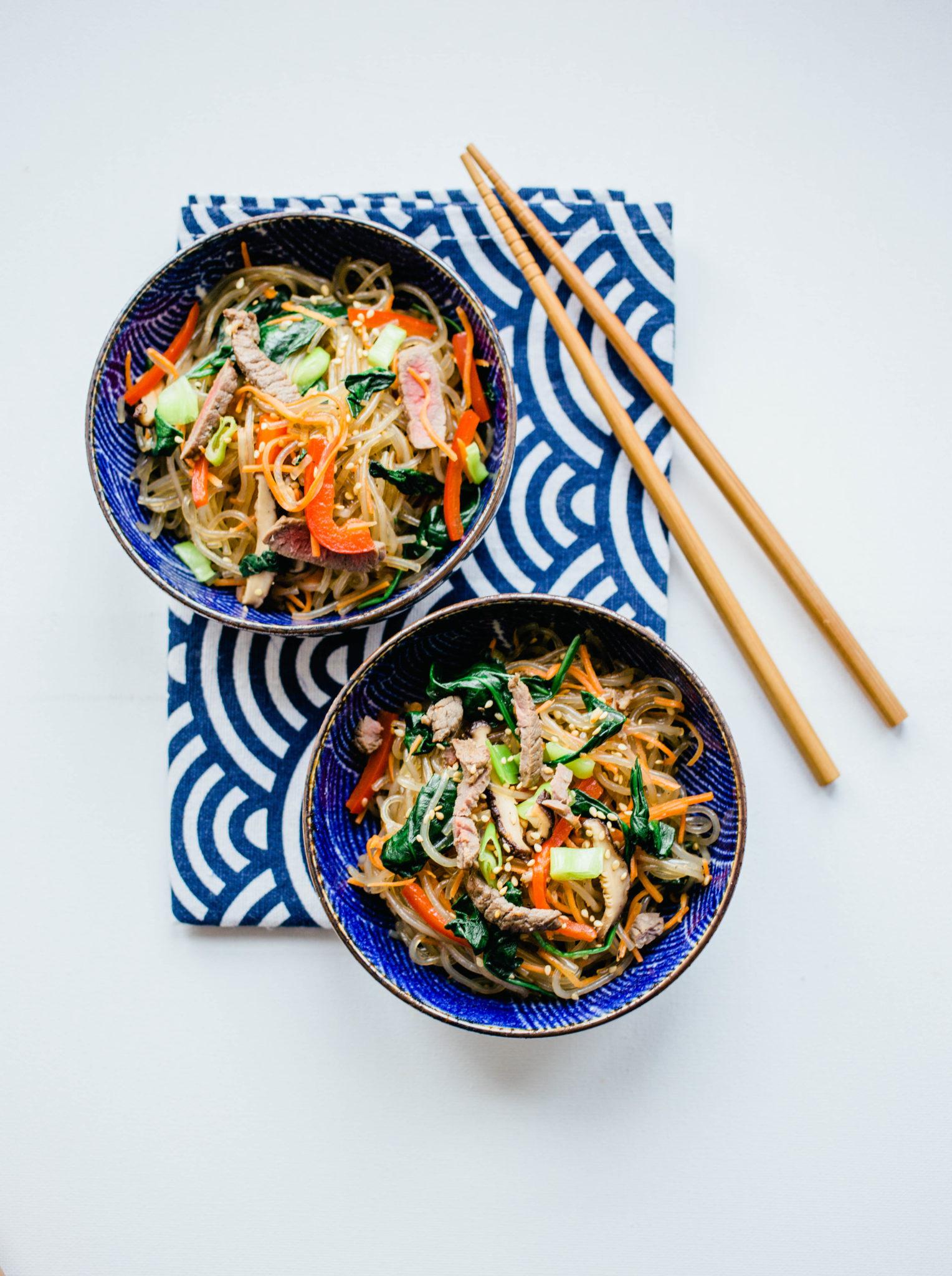 japchae recept koreaans 2