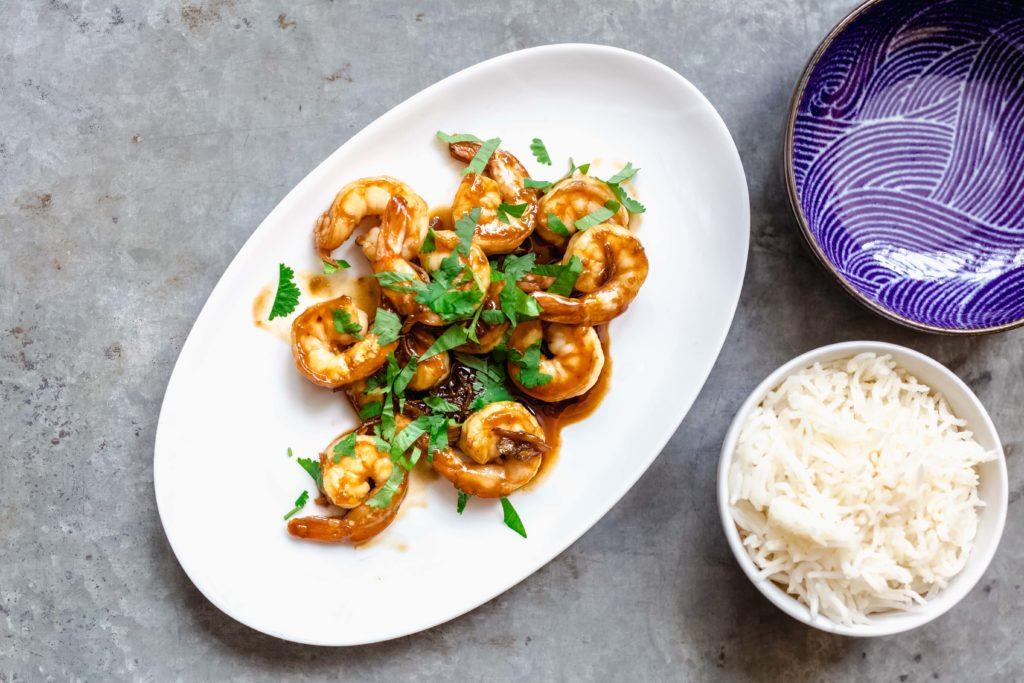 thaise wokgarnalen met knoflook 2 1024x683 - Thaise wok garnalen met knoflook