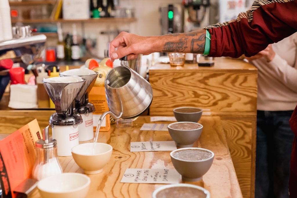 lekkerste kopje koffie barista