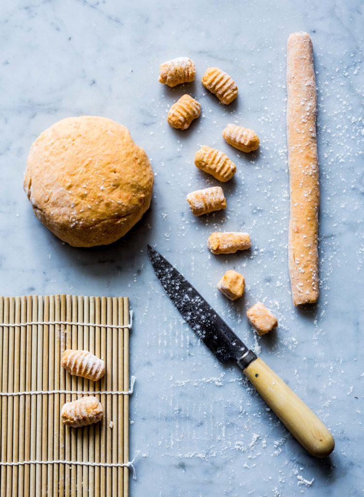 zoete aardappel gnocchi culinessa 1 1 750x1024 - Zoete aardappel gnocchi