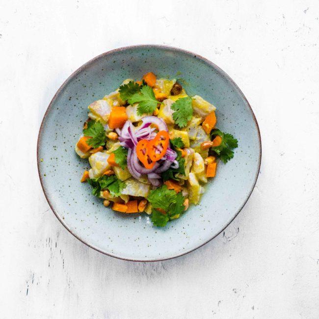 Ceviche recept met zeebaars