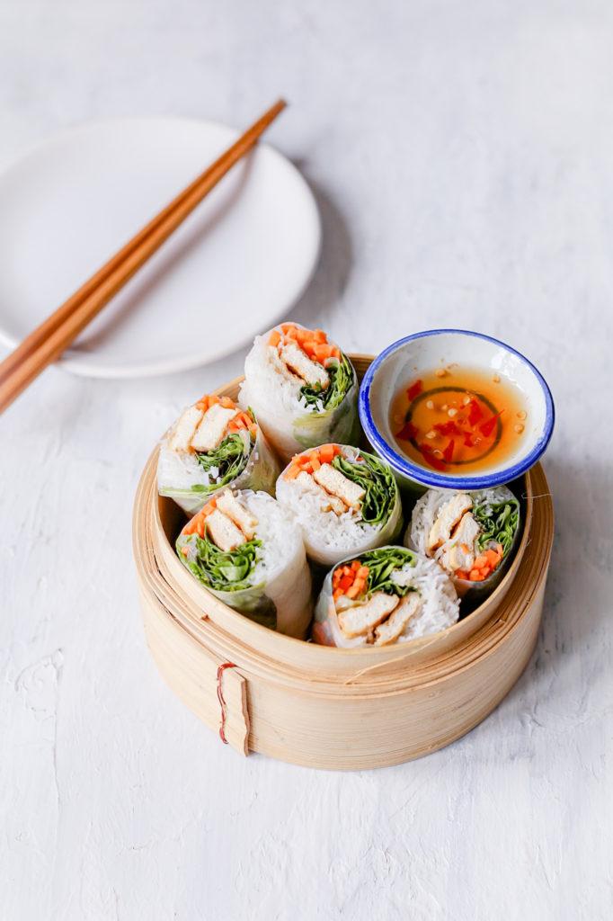 B49BA6CB 876D 4BDA 82A5 0DDCCFF4DDB5 682x1024 - Summer rolls met tofu - Vietnamese fresh rolls - Goi Cuon