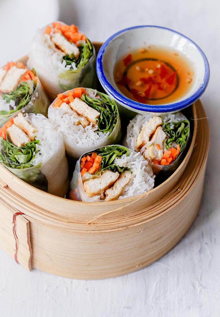 68516243 9682 4825 93C1 E4FC78A2E1E0 711x1024 - Summer rolls met tofu - Vietnamese fresh rolls - Goi Cuon