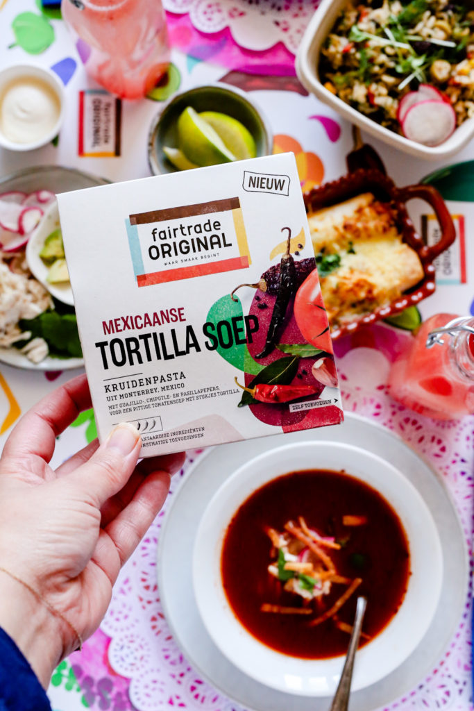 70CD0ADE 1407 4447 98A4 4D9281CEE993 683x1024 - Tortillasoep van Fairtrade original - Sopa de tortilla