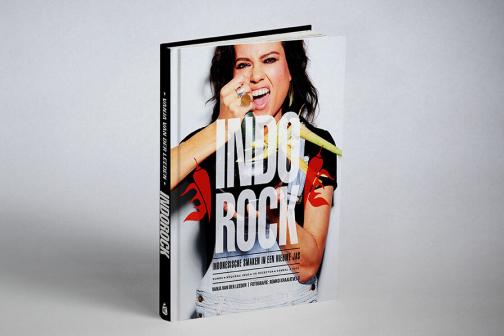 indorock cover kookboek - Indorock kookboek Vanja van der Leeden