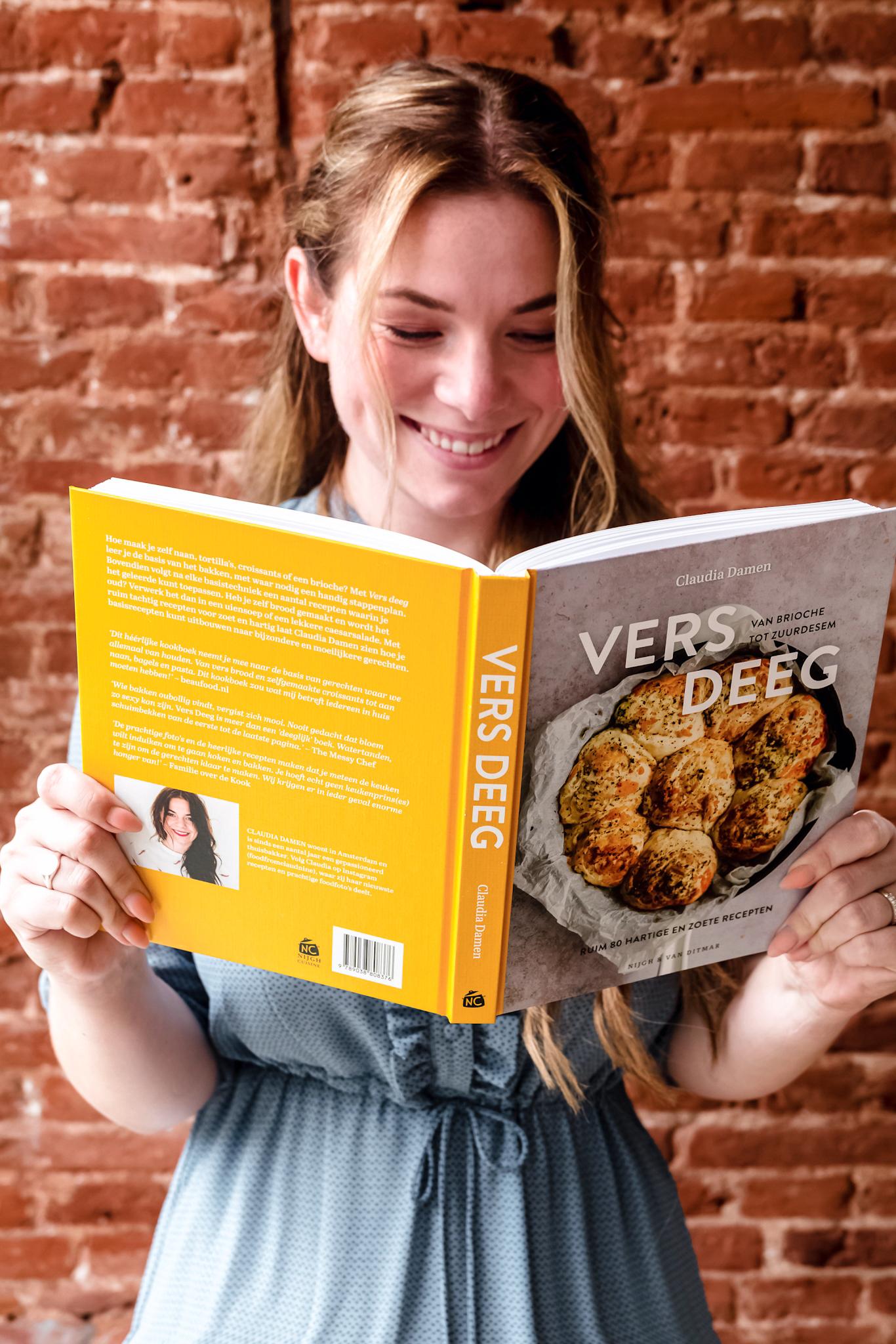 Vers deeg kookboek claudia damen