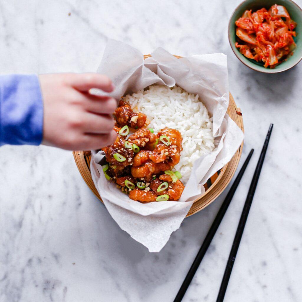 775059C7 0AF6 4630 B1D0 880B5B0A8CD2 1024x1024 - Korean Fried chicken met zoete knoflook saus