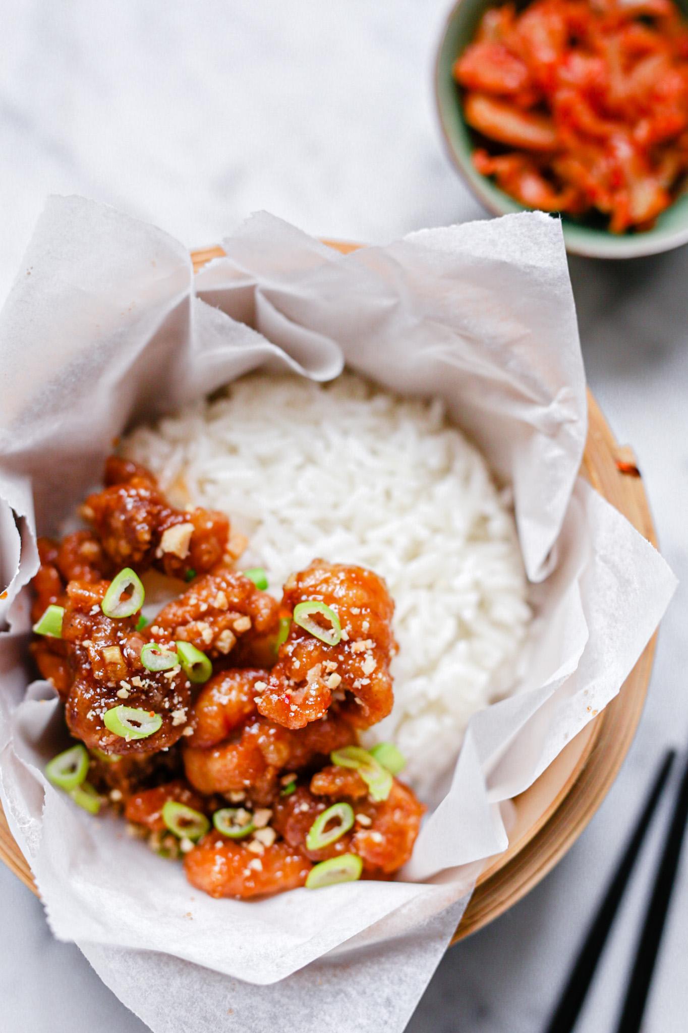 Korean Fried chicken zoete saus