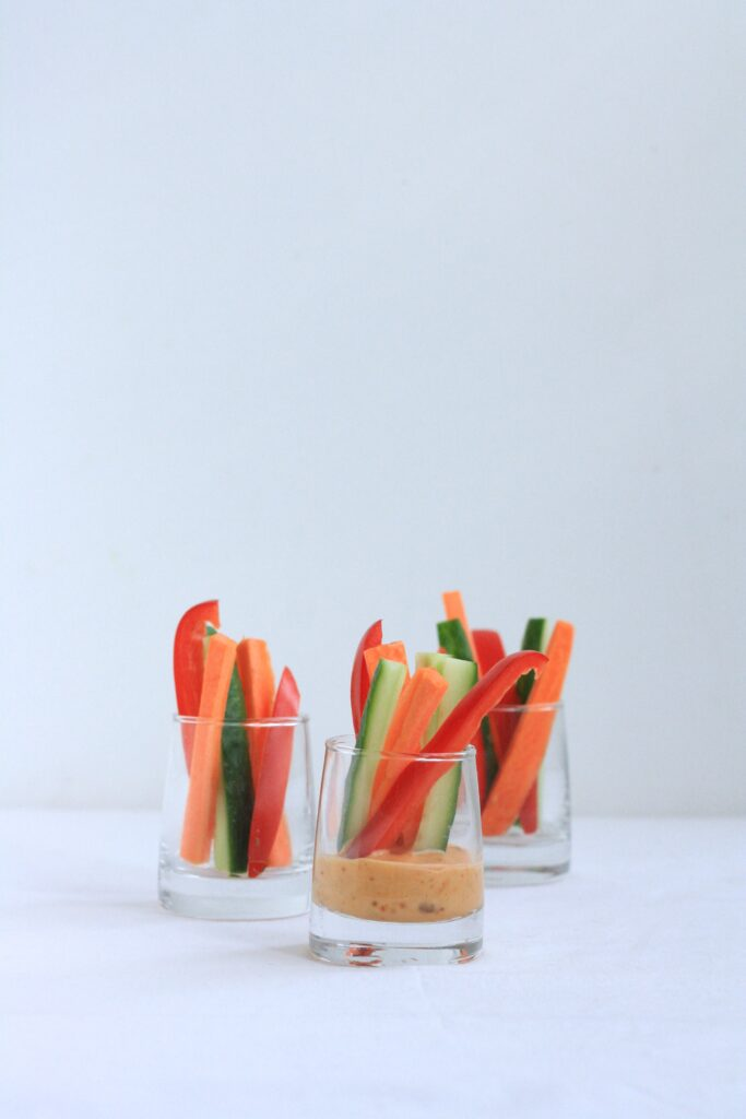 veggie snack 683x1024 - Kind (nog meer) groenten laten eten - 20+ tips