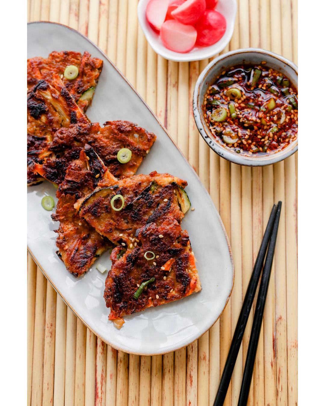 kimchi pannenkoek