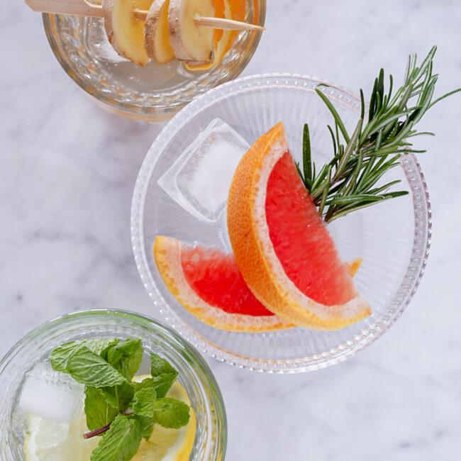3 x fruitwater voor de zomer