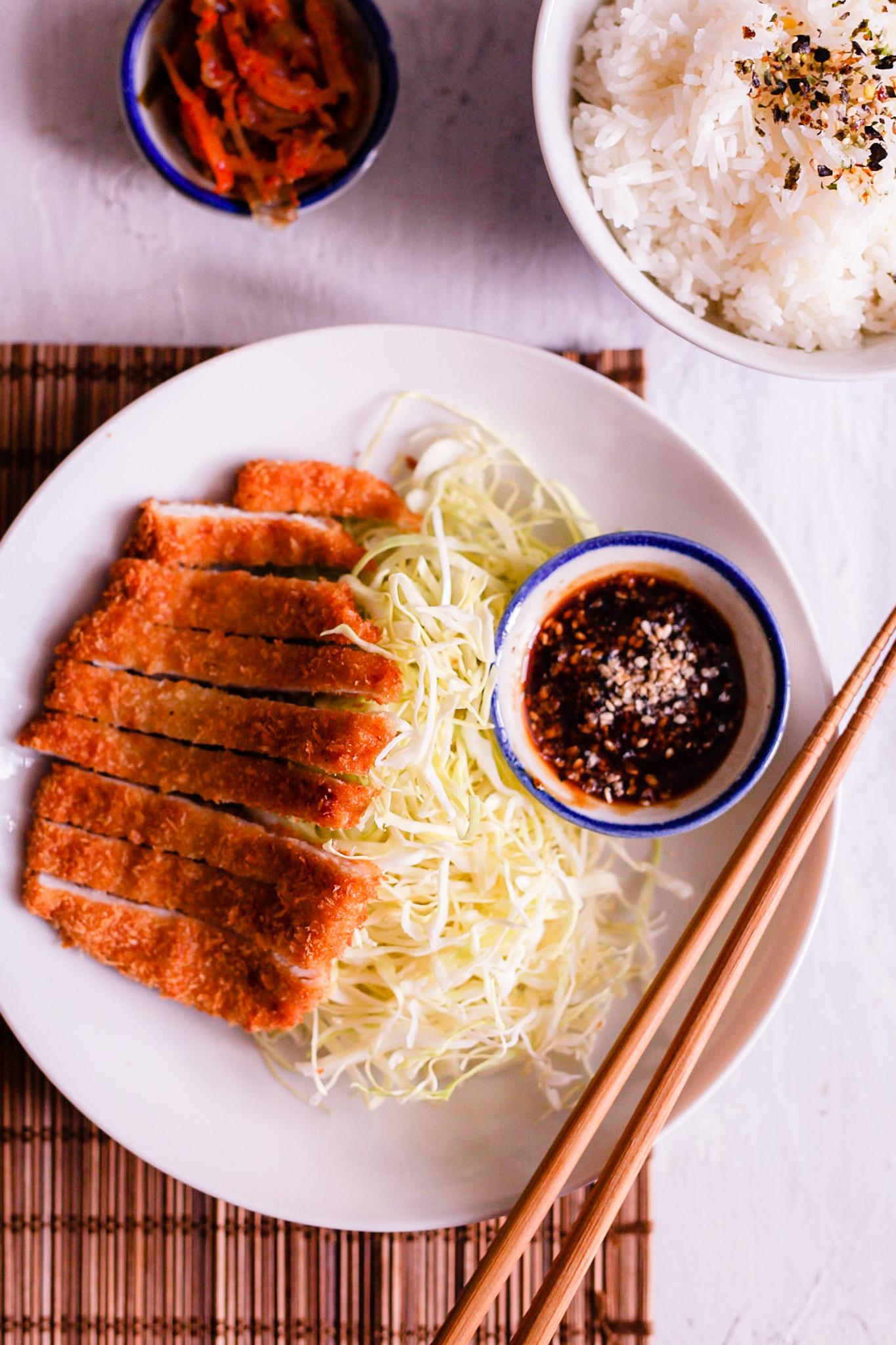 tonkatsu japanse schnitzel